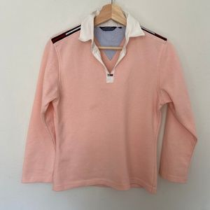 Tommy Hilfiger Tops - TOMMY HILFIGER Pink Polo with Collared Neck
